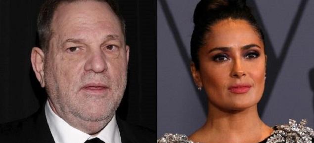 Salma Hayek contra Harvey Weinstein