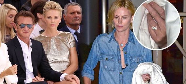 ¿Se comprometieron Charlize Theron y Sean Penn?
