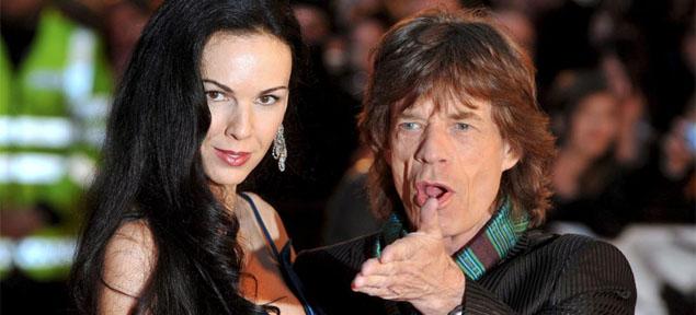 Se confirmó el suicidio de la novia de Mick Jagger