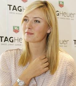 Sharapova y su nuevo amor.