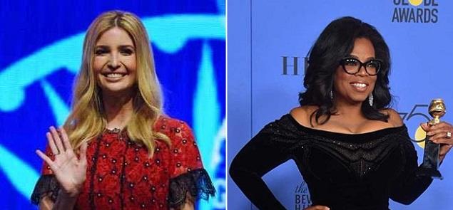 También Ivanka Trump elogió a Oprah