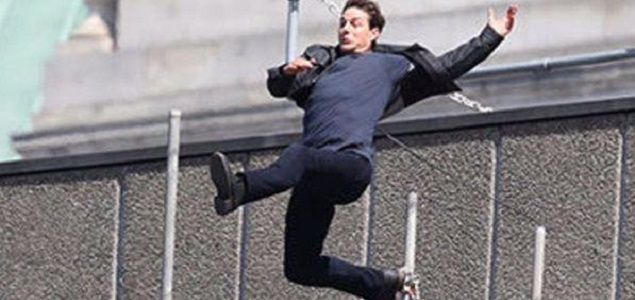 Tom Cruise accidentado en el set de ''Misión Imposible 6''