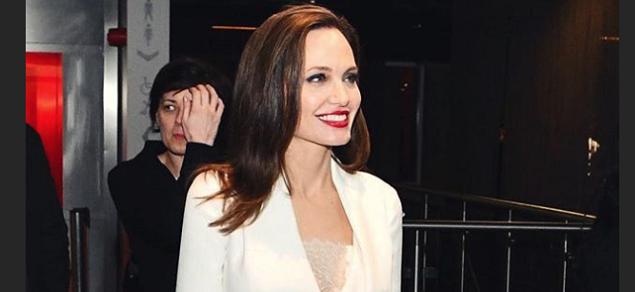 Una sorpresiva aparición de Angelina Jolie