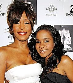 Whitney Houston fue atacada por su hija.