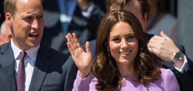 William y Kate esperan su tercer hijo