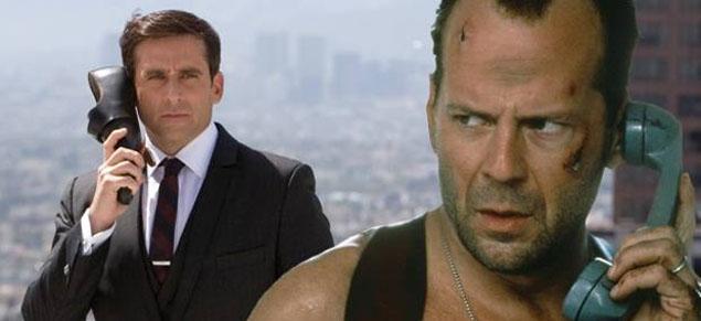 Woody Allen ''despide'' a Bruce Willis, y lo reemplaza con Steve Carell