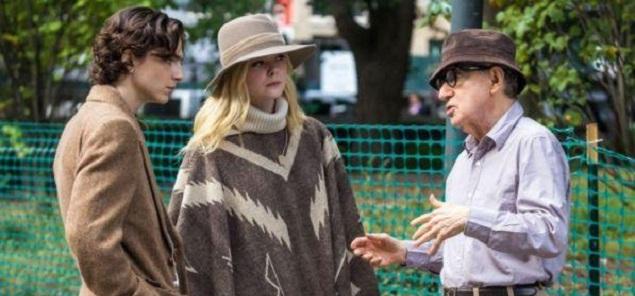 Woody Allen, su nueva película ''A Rainy Day en Nueva York'' bloqueada en los Estados Unidos